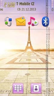 Paris - Palais De Chaillot es el tema de pantalla