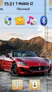 Maserati Grancabrio 01 es el tema de pantalla