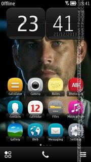Paul Walker 02 theme screenshot