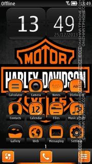 Harley Davidson 08 es el tema de pantalla