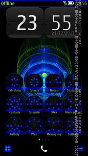 Alien Phone es el tema de pantalla
