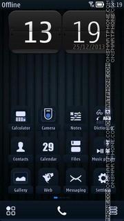 Dark Lines 01 es el tema de pantalla