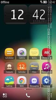 Bnb Belle UI es el tema de pantalla