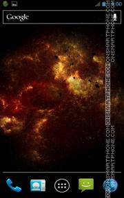 Inferno Galaxy theme screenshot