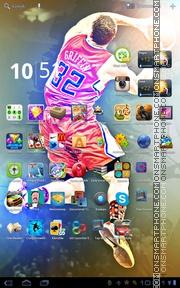 Blake Griffin theme screenshot