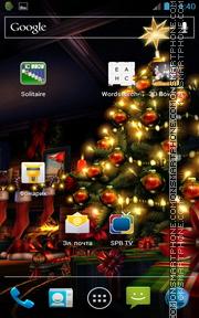 Christmas HD theme screenshot