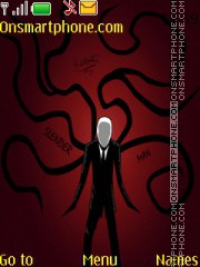 SlenderMan theme screenshot