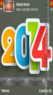 2014 Happy New Year tema screenshot