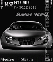 Audi-RSQ es el tema de pantalla