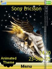 Golden Adidas es el tema de pantalla