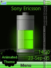 Green Battery es el tema de pantalla