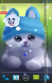 Young Cat theme screenshot