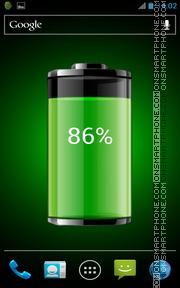 My Battery Live Wallpaper theme screenshot