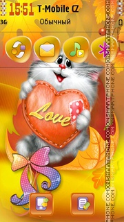 Cat Lover 01 theme screenshot