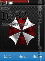 Umbrella Corporation - The Resident Evil es el tema de pantalla