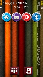 True Colours HD theme screenshot