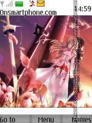Sword Art Online theme screenshot