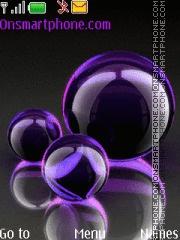 Bubbles theme screenshot