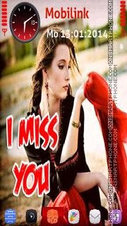 I miss you es el tema de pantalla
