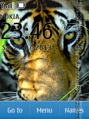 Tiger 55 theme screenshot