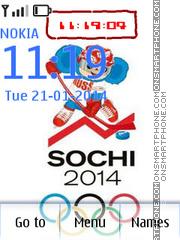 Sochi es el tema de pantalla