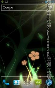 Mystical Flower Life theme screenshot