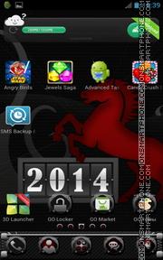 Year 2014 es el tema de pantalla