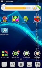PSP Fractal Waves es el tema de pantalla