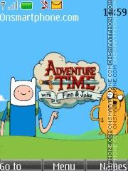 Adventure Time theme screenshot