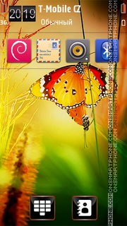 Sunshine HD theme screenshot