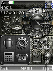 Android theme screenshot