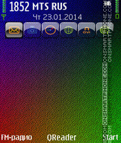 Full-Color theme screenshot