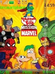Phineas y Ferb Missión Marvel es el tema de pantalla