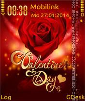 Valentine day theme screenshot