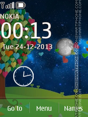 Love Tree 01 theme screenshot