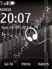 Music Style theme screenshot