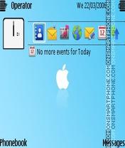 Apple light es el tema de pantalla
