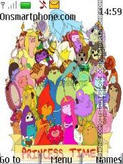 Adventure Time Princess theme screenshot