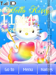 Hello Kitty Animation es el tema de pantalla