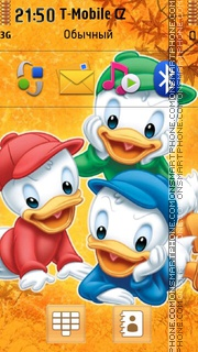 Three Brothers In Duck Tales theme screenshot