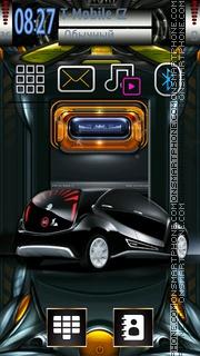 Auto Tech Style es el tema de pantalla