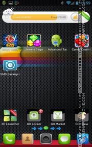 iPhone Black 04 es el tema de pantalla