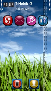 Grass HD 01 theme screenshot