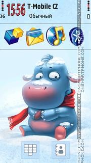 Cute Hippo 01 es el tema de pantalla