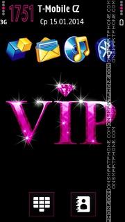 Pink VIP es el tema de pantalla