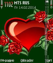 Love Theme es el tema de pantalla