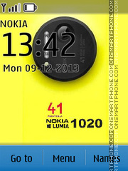 Nokia Lumia 1020 Style theme screenshot