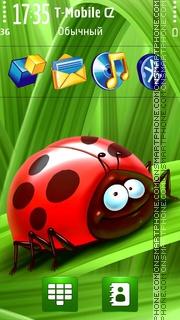 Ladybug in Summer es el tema de pantalla
