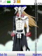 Bleach Ichigo Hollow theme screenshot