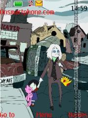 Adventure Time tema screenshot